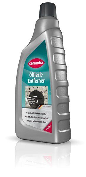 Ölfleckenentferner: Caramba Ölfleckentferner beseitigt Ölflecken auf allen saugenden und nicht saugenden Untergründen. Mit guter Haftwirkung auch bei stark geneigten Flächen.