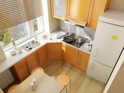 Для маленькой кухни - использование места у окна... 7 идей для жизни - Мой Мир@Mail.ru