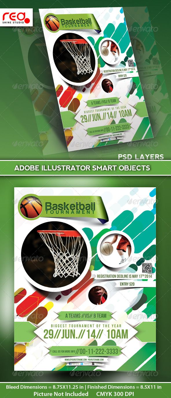 basketball tournament flyer poster magazine template be simple logos and template. Black Bedroom Furniture Sets. Home Design Ideas
