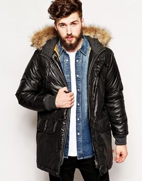Bellfield Metallic Parka