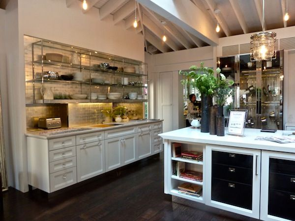 House Beautiful 2012 Kitchen of the Year by Mick De Giulio/ metal shelving