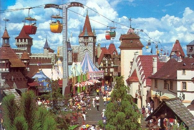 An Aerial Gondola Lift Between Lands | 29 Things You'll Never See At Disney World Again