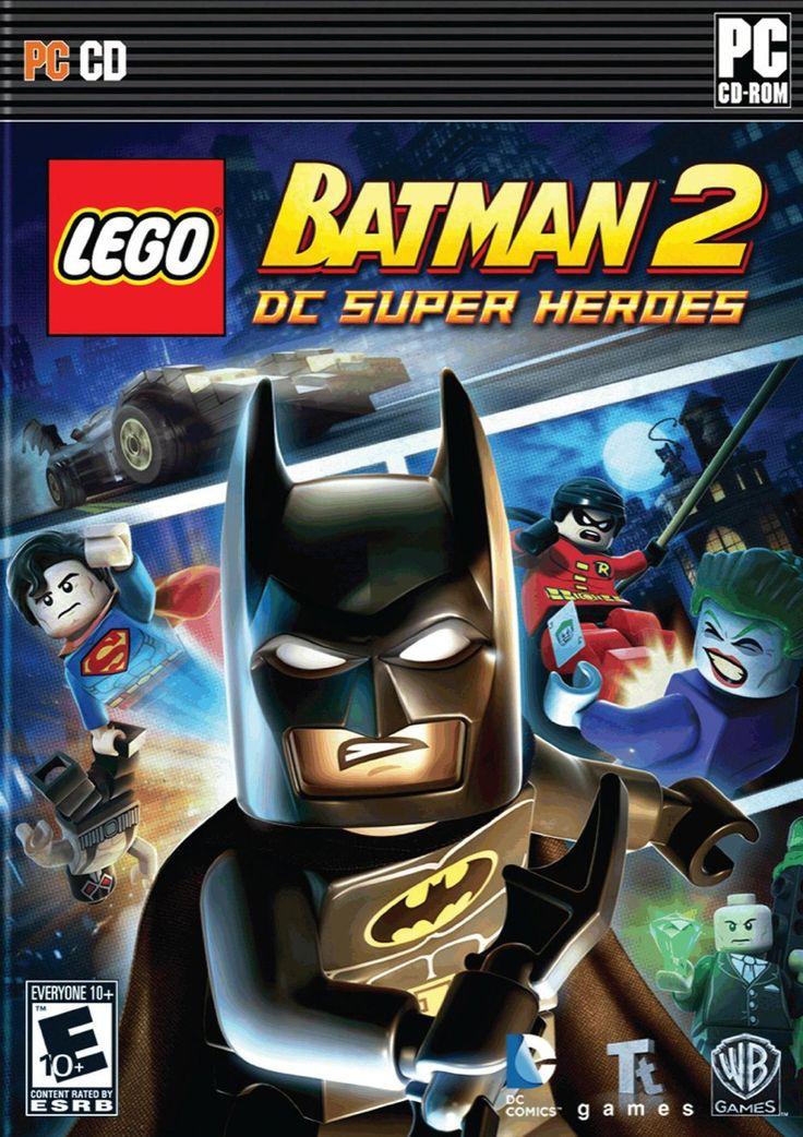 LEGO Batman 2 DC Super Heroes PC Game Jeux nintendo 3ds