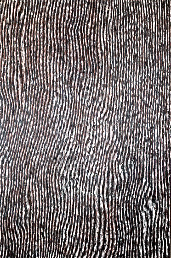 Monica Napaljarri - Site of Marrapinti - Ancestral Ceremonies stories http://www.aboriginalsignature.com/art-aborigene-papunya-tula/monica-napaljarri-site-of-marrapinti-ancestral-ceremonies-stories
