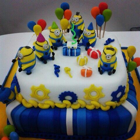 Torta Minions D Nevescake Pinterest Minions