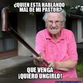 jajajaja ajá RECIIBEE la unción!!  #Cristianos #HumorCristiano #MemesCristianos