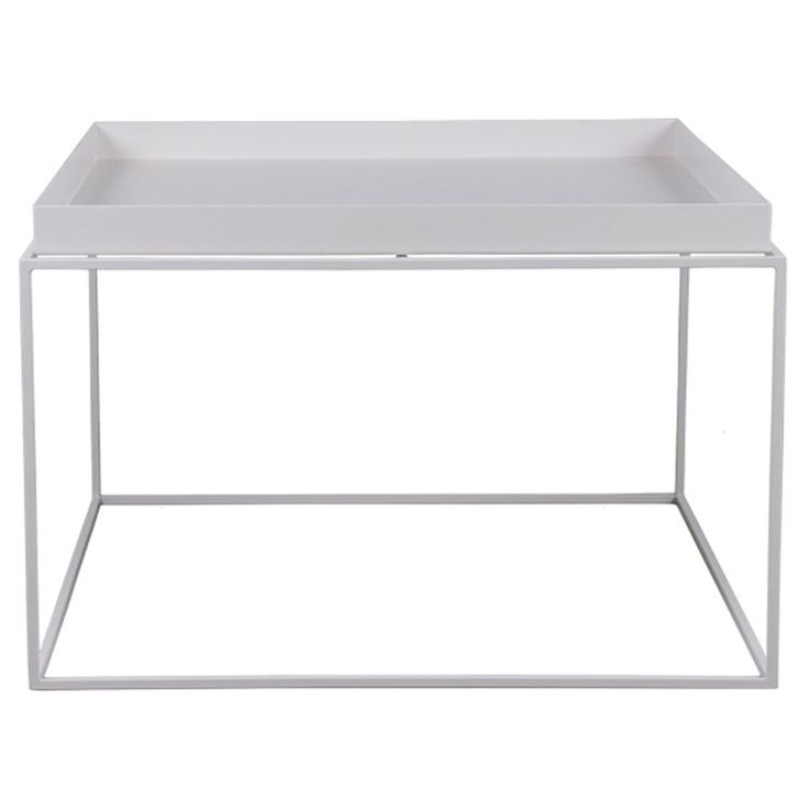Tray Table Coffee, 39 cm white Hay - Kjøp møbler online på ROOM21.no