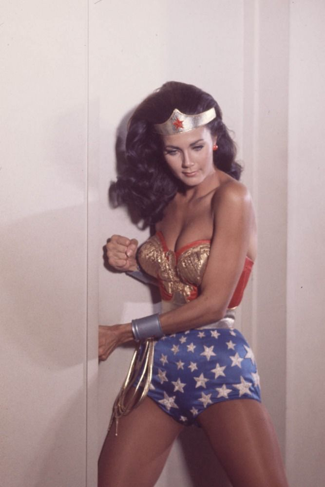 Linda Carter as Wonder Woman. I wanted this costume soooo bad when I was a little girl.