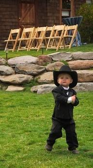 Cowboy Ring Bearer - Logan???   :-)