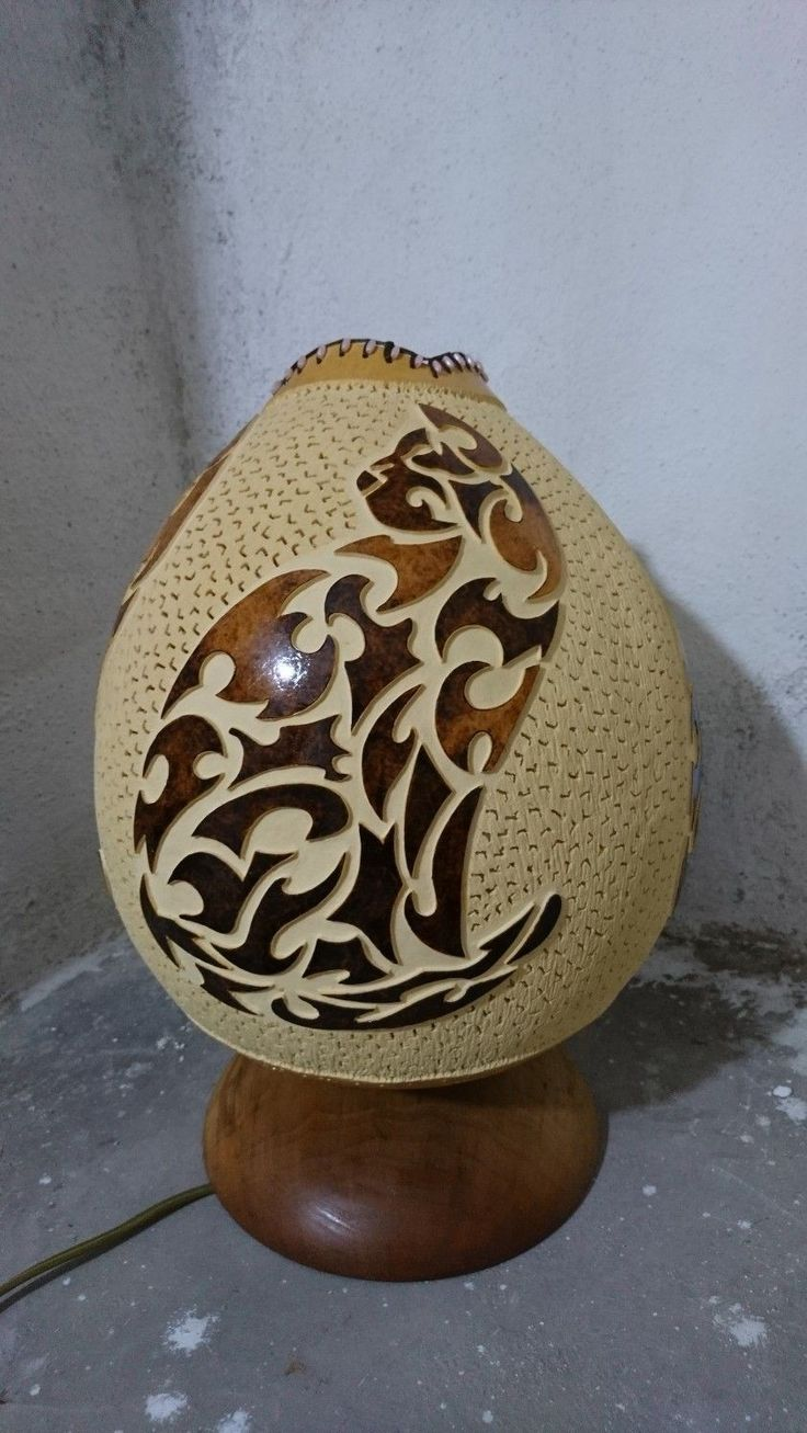 1159 Best Gourd Luminaries Lamps Images On Pinterest