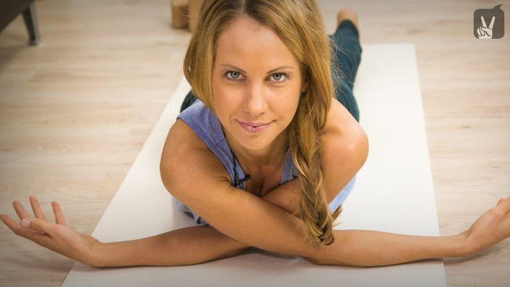 #Yoga Workout: Yin Yoga für flexible Schultern
