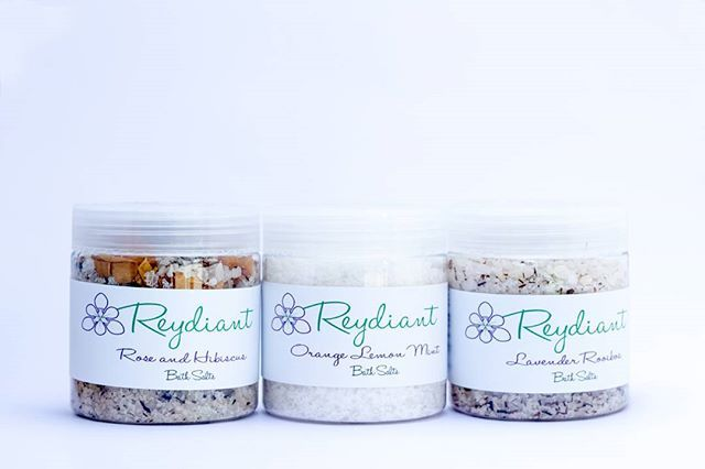 Introducing Reydiant skin and body care range! Our bath salts offer you that Spa feeling in the comfort of your own home. #Relax and #Unwind with #ReydiantBathSalts #MakeEverdayaSpaDay #reydiant #naturalproducts