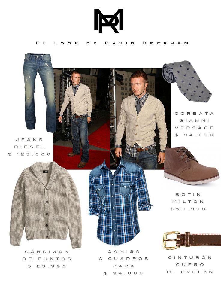 Hoy en nuestro blog: el look de David Beckham @MODA ROBLE #estilodelacalle #celebridades #vestuariomasculino #vestuariohombres #moda&estilo http://bit.ly/1nmdj7S