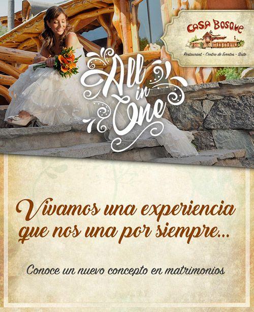 CASA BOSQUE: Vivamos una experiencia que nos una por siempre  #SantiagoElegante_CasaBosque  #SantiagoElegante #Gastronomia #CajondelMaipo
