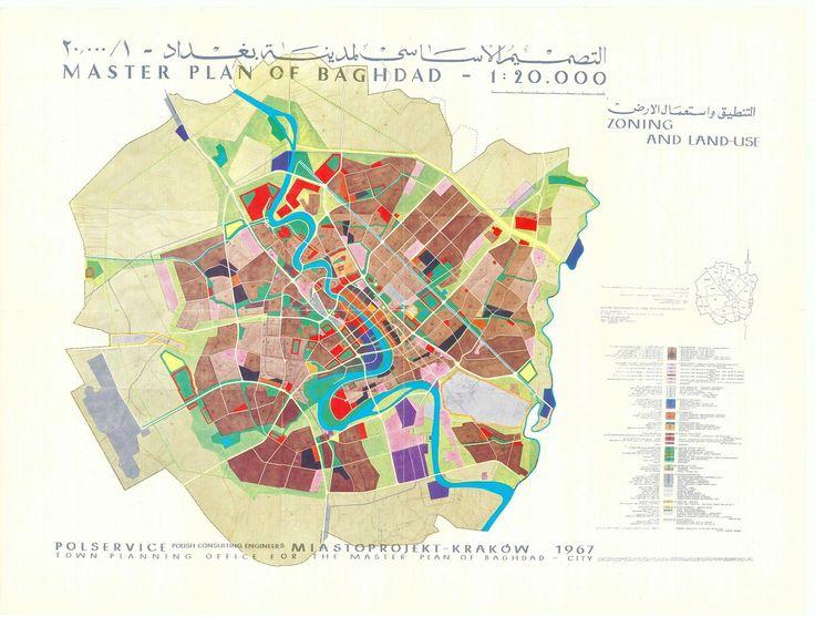 miastoprojekt krakow master plan of baghdad miastoprojekt archive krakow