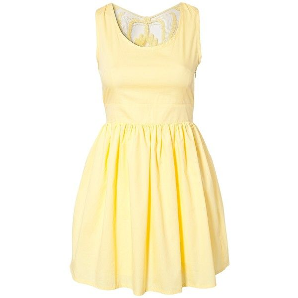 Twelfth man canary yellow dresses