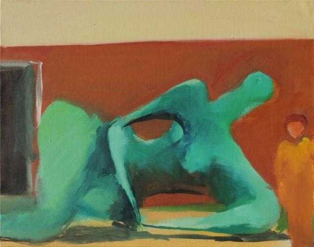 Александр Погоржельский, «Городской пейзаж № 1» Из серии «Абстрактные скульптуры», 2014 год
