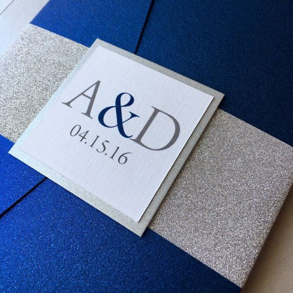 best 25+ blue wedding invitations ideas on pinterest | navy, Wedding invitations