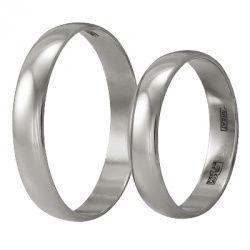 Обручальные кольца из белого золота, артикул К0151080057 - купить по лучшей цене, описание, характеристики, фотографии 10 оба