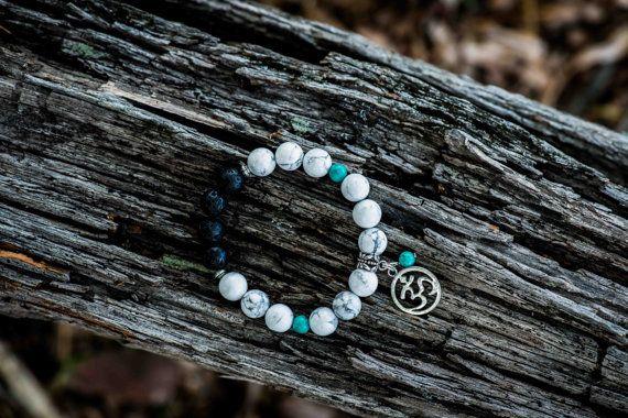CALM  Aromatherapy Gemstone Diffuser Bracelet by KARHIcollection