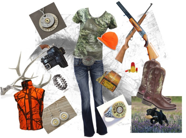 """""""Hunting Season"""" by abinks ❤ liked on Polyvore"""