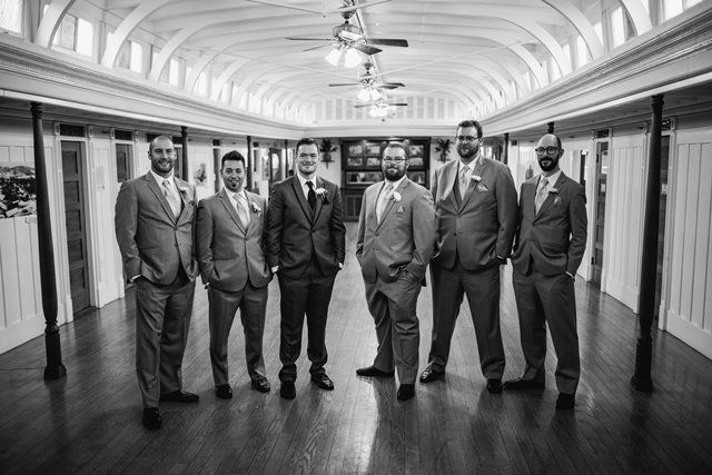 Grooms Men - Photo by Justine Russo