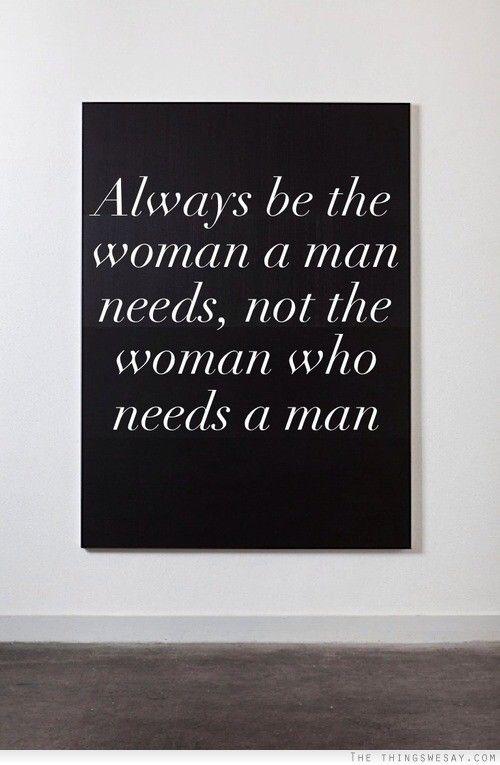 women in need of men gov