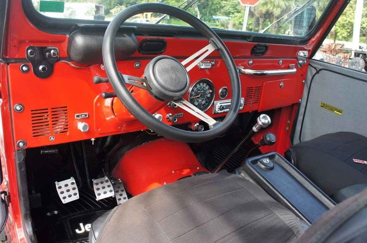 Used 1981 Jeep  CJ-5 ATVs For Sale in Florida. Fully restored Jeep CJ-5---with new 4.2 inline 6 crate motor {only 5000 miles since restored}--complete outdoor marine sound system--Sony Am/FM/CD with amp--sub-woofer--JBL outdoor speakers--completely new suspension system--shocks-tie rod ends stabilizer bar--brakes--rotors---561-586-7777