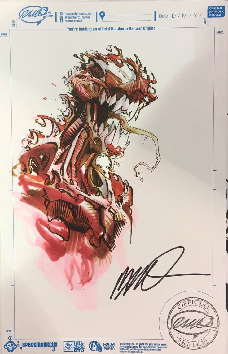 Carnage by Humberto Ramos [Wizard World Chicago 2016]