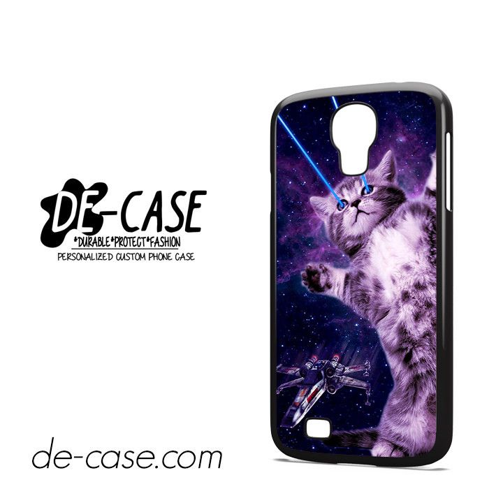 Cat Laser Beam DEAL-2456 Samsung Phonecase Cover For Samsung Galaxy S4 / S4 Mini