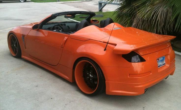 Orange Nissan z370, dream car ;*