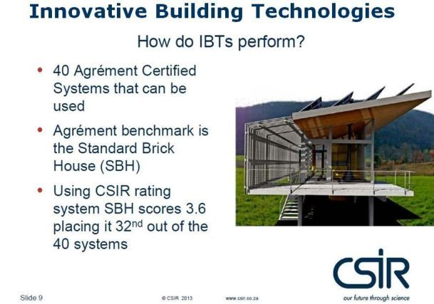 Innovative building Technologies
