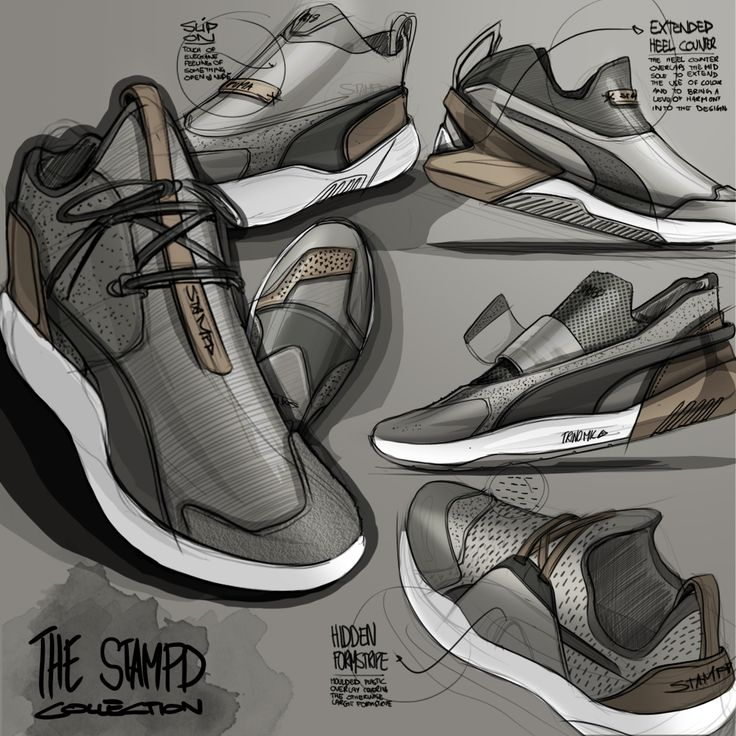"""Sketch log : Day 23 Footwear week has been a blast. A bit late to join the  party but recently let out a beast of a design collab with"