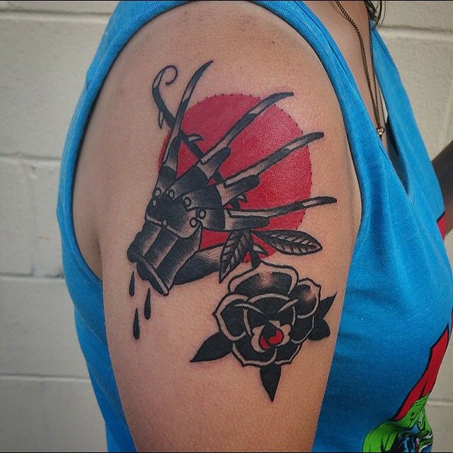 Nightmare on Elm Street tattoo traditional