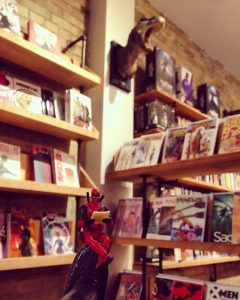 Leslieville's Only Comic Book Store & Cafe Hey- welcome to the Sidekick ! The Sidekick is a hybrid Comic Book Store/ Coffee Bar in Toronto's Leslieville area. The Sidekick proudly hosts a warm, inviting space to hang out, drink coffee, … Continue reading →