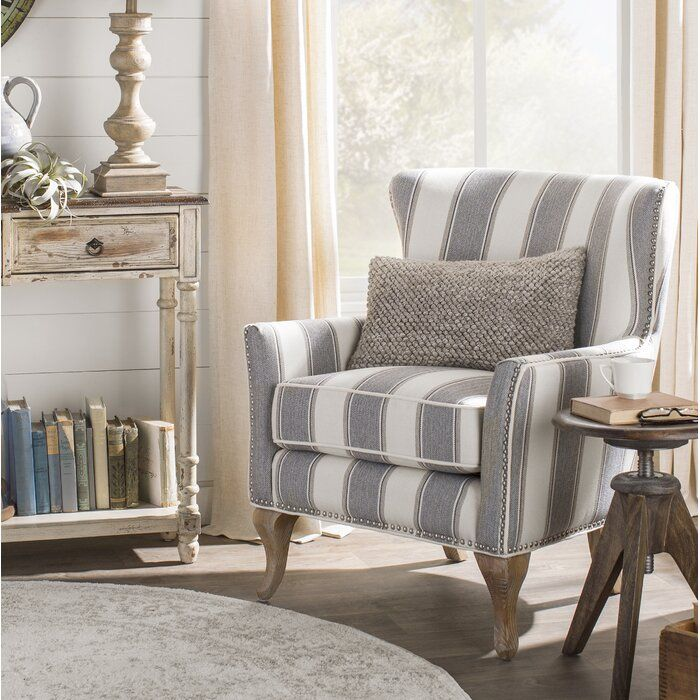 Zubair Wingback Armchair Furniture Accent Chairs For Living