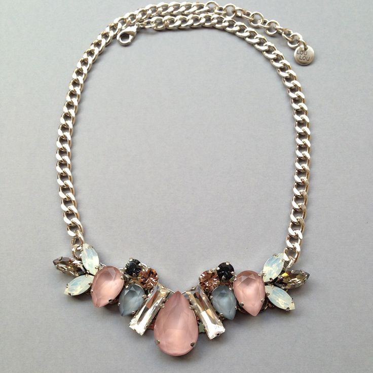 Image of Emma necklace rose grey