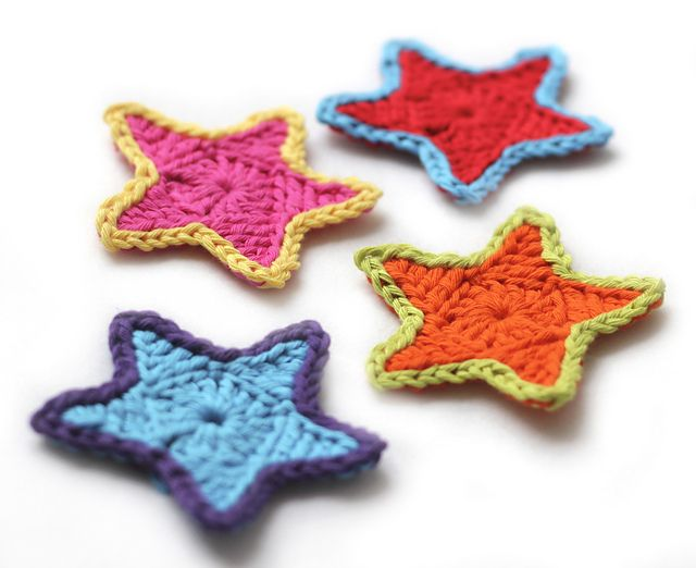 Ravelry Simple Star Ornament Pattern By Dennis Marquez Crochet I New Crochet Star Pattern Free