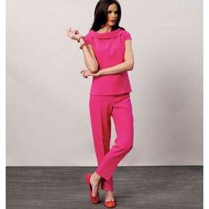 Vogue 8886 top, jurk en broek