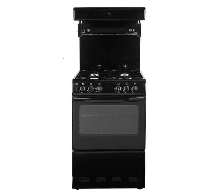 NEW WORLD 55THLG Gas Cooker - Black