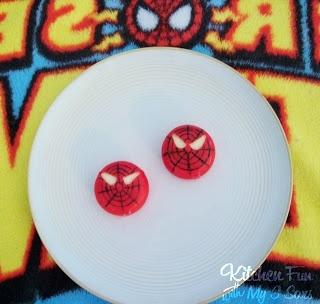 Kitchen Fun With My 3 Sons: Super Hero Food-Spiderman Babybel!