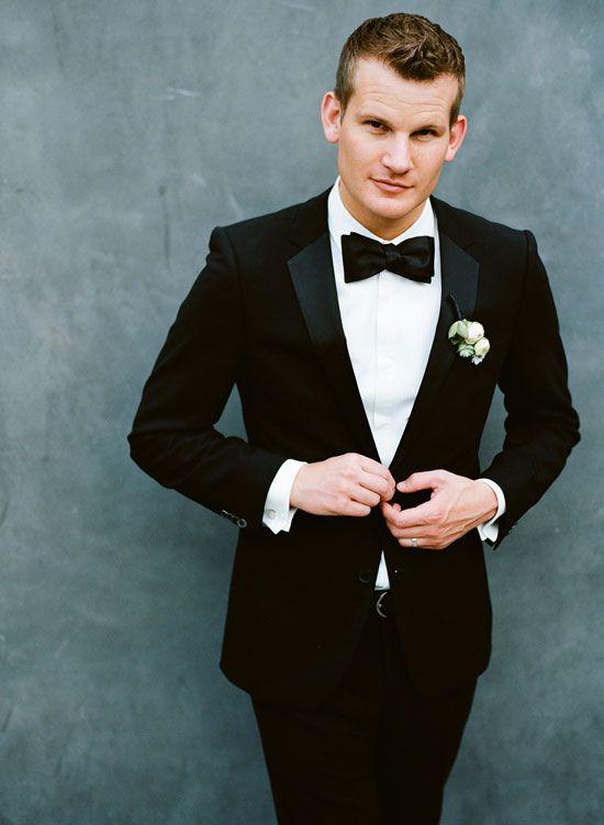 Classic Black Tie Style
