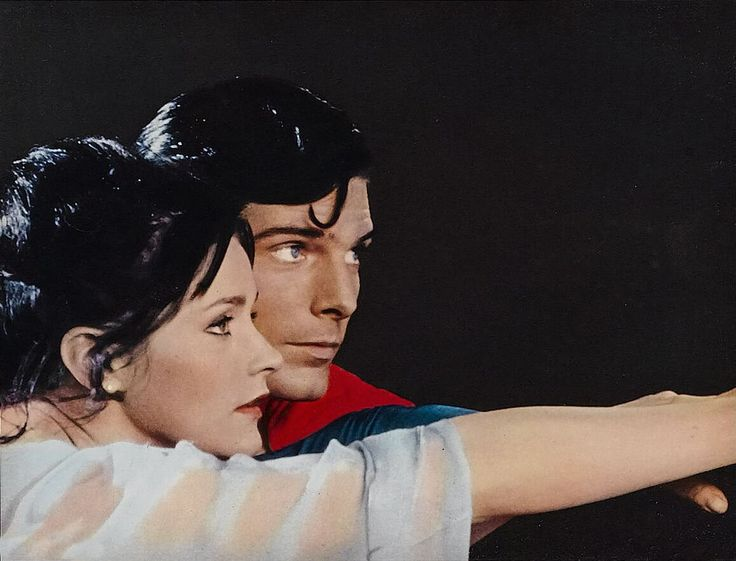 Superman and Lois Lane. Entry : It might be nice to see each other when I .