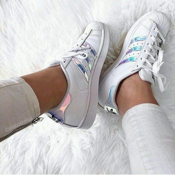 Adidas originals superstar - iridescent - aq6278