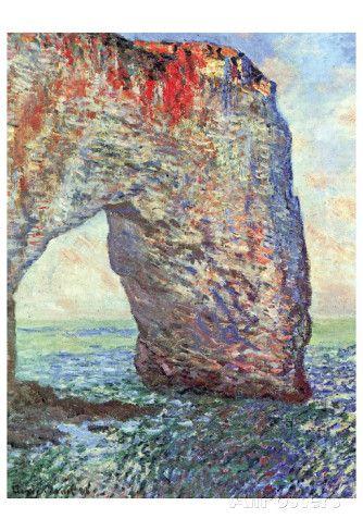 The Manneporte near Etretat, c.1886 Prints by Claude Monet at AllPosters.com