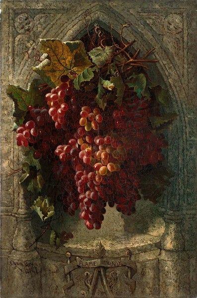 Flame Tokay Grapes...1884...Edwin Deakin...looks yummy...