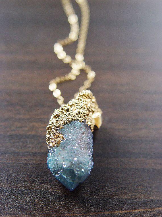 spirit quartz pendant