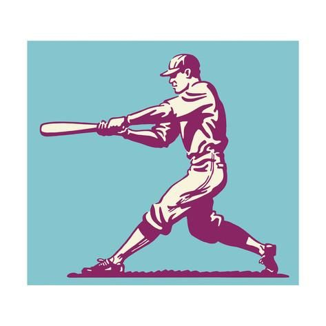 Baseball Batter Posters by Pop Ink - CSA Images at AllPosters.com