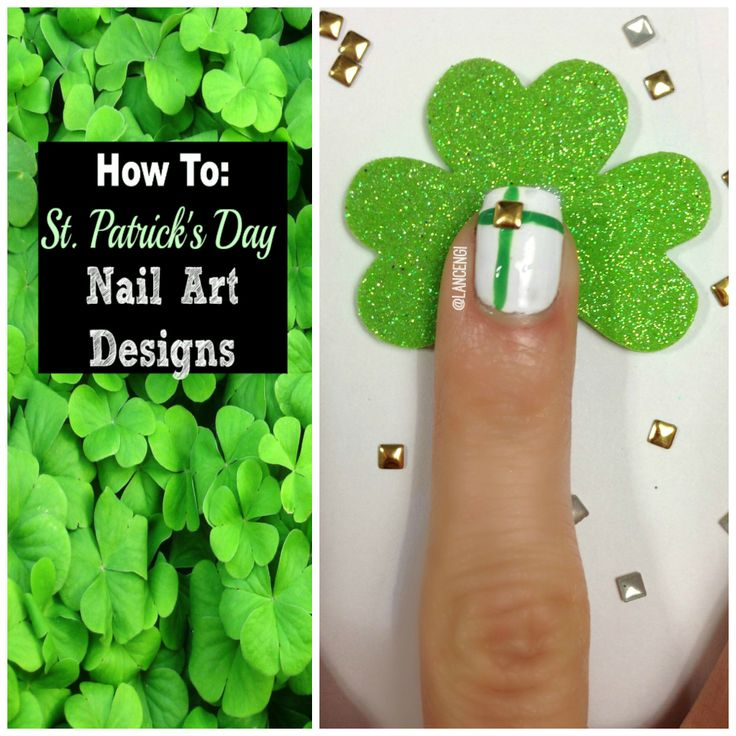 48 best Lucky Nail Designs images on Pinterest | Easy nail art, Easy ...