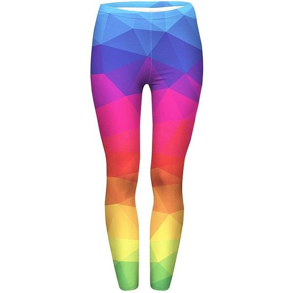 JINKAIJIA Women's Large Size Fashion Designs Digital 3D Printed... ($13) ❤ liked on Polyvore featuring pants, leggings, multi colored leggings, wide-leg pants, wide-waistband leggings, multi color leggings and pink trousers